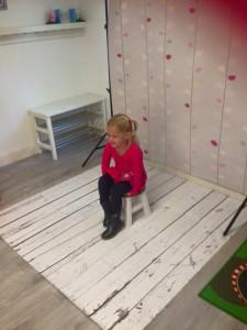 Bij het Toverbloempje komt één keer paar jaar de fotograaf om foto's te maken van de kinderen.